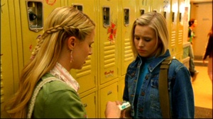 """Meg, you're the last good person at this school. I'd believe cartoon birds braided your hair this morning."""