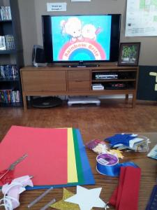 Rainbow Brite Crafts