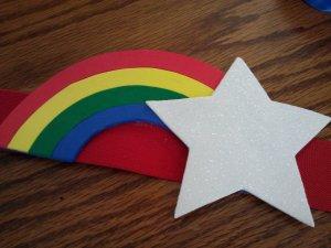 Rainbow Brite Belt