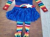 DIY Rainbow Brite RunningCostume