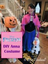 DIY Frozen's Princess AnnaCostume