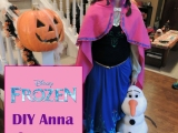 DIY Frozen's Princess Anna Costume