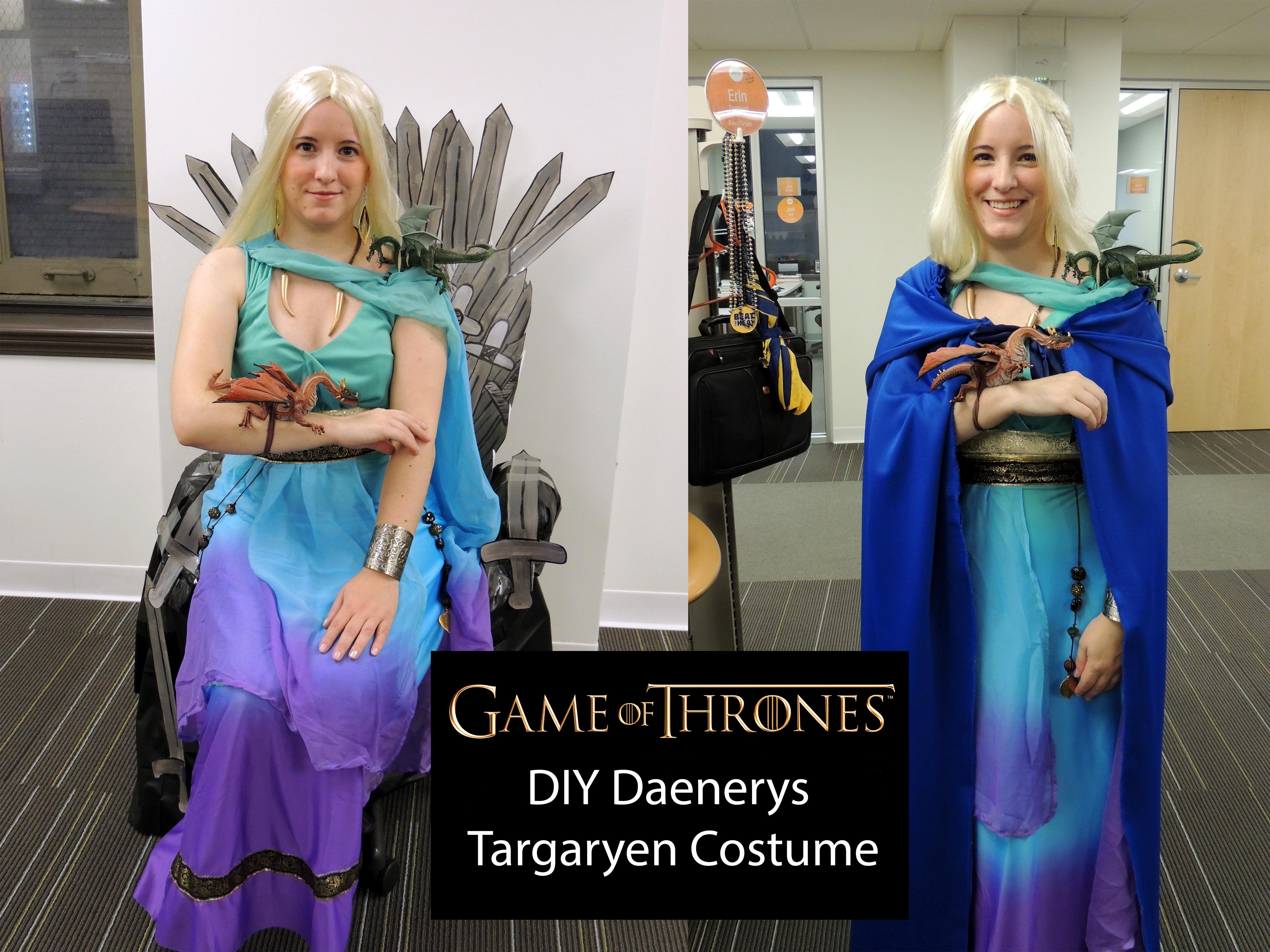 Diy Daenerys Targaryen Costume Erin Thedwall